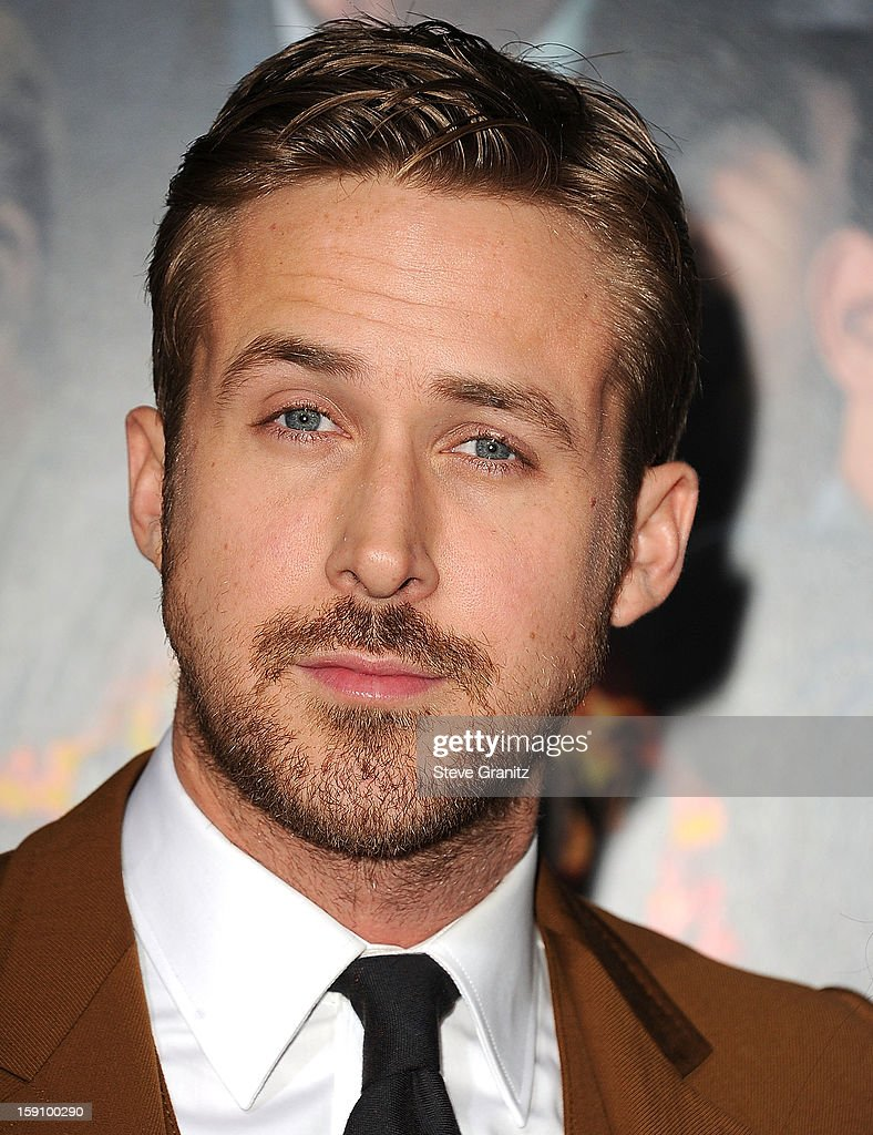 Ryan Gosling arrives at the 'Gangster Squad' - Los Angeles Premiere at Grauman's Chinese Theatre on January 7, 2013 in Hollywood, California.