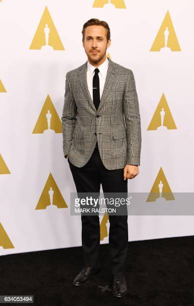 Ryan Gosling arrives for the 89th Annual Academy Awards Nominee Luncheon at the Beverly Hilton Hotel in Beverly Hills California on February 6 2017 /...