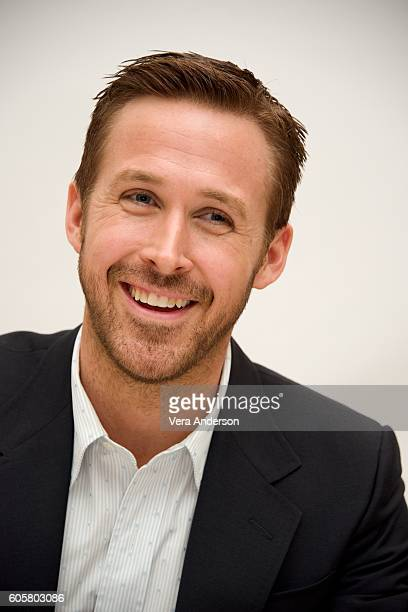Ryan Gosling at the 'La La Land' Press Conference at the Fairmont Hotel on September 13 2016 in Toronto Canada