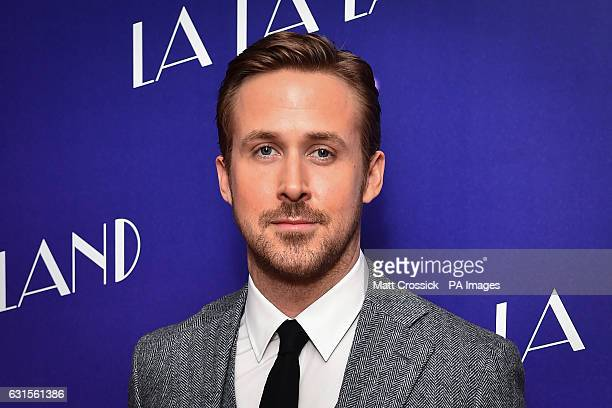 Ryan Gosling attending a gala screening for La La Land held at Ham Yard Hotel London PRESS ASSOCIATION Photo Picture date Thursday January 12th 2017...