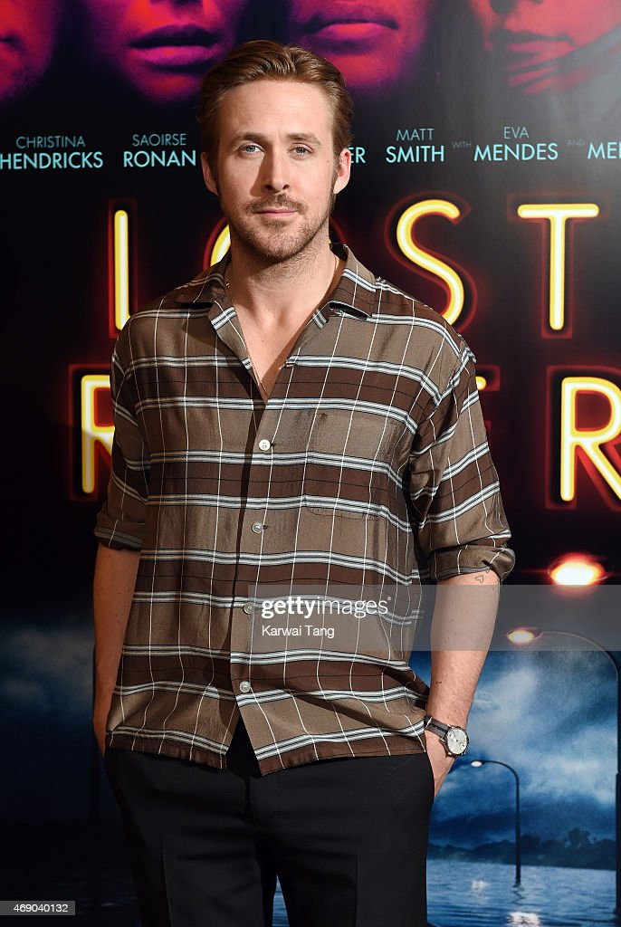 Ryan Gosling attends a photocall for the film 'Lost River' at the London Edition Hotel on April 9 2015 in London England