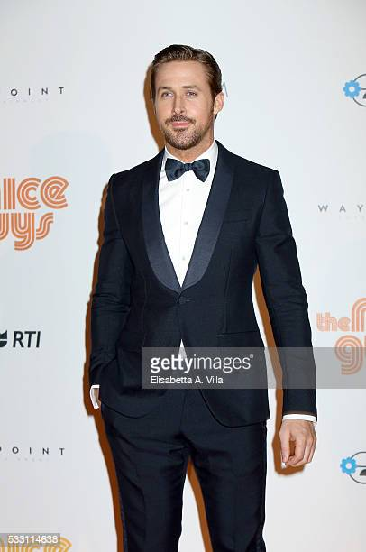 Ryan Gosling attends a photocall for 'The Nice Guys' at Cinema The Space on May 20 2016 in Rome Italy