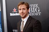 Ryan Gosling attends 'The Big Short' New York premiere at Ziegfeld Theater on November 23 2015 in New York City