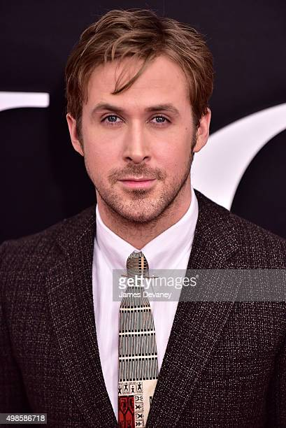 Ryan Gosling attends 'The Big Short' New York Premiere at Ziegfeld Theater on November 23 2015 in New York City