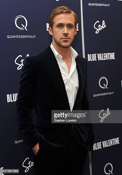 Ryan Gosling attends the New York premiere of 'Blue Valentine' hosted by Quintessentially at The Museum of Modern Art on December 7 2010 in New York...