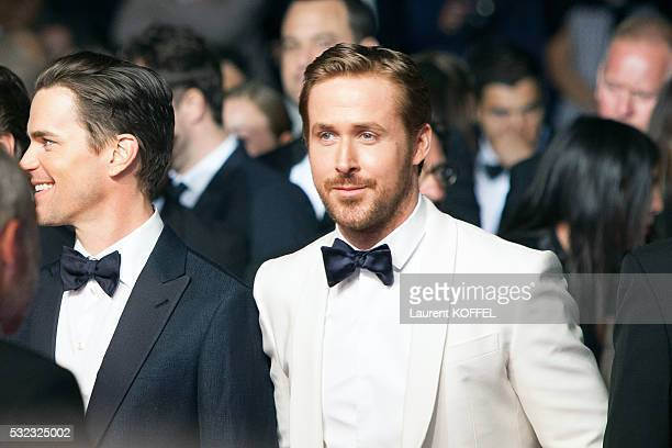 Ryan Gosling attends 'The Nice Guys' premiere during the 69th annual Cannes Film Festival at the Palais des Festivals on May 15 2016 in Cannes France