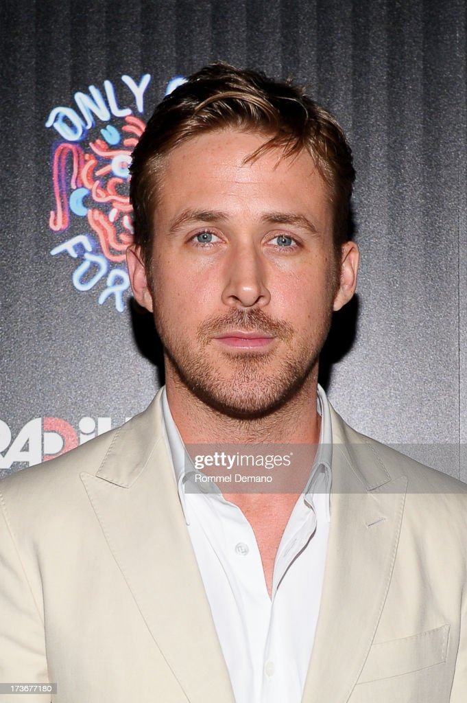 Ryan Gosling attends the 'Only God Forgives' New York Premiere at BAM Harvey Theater on July 16 2013 in New York City