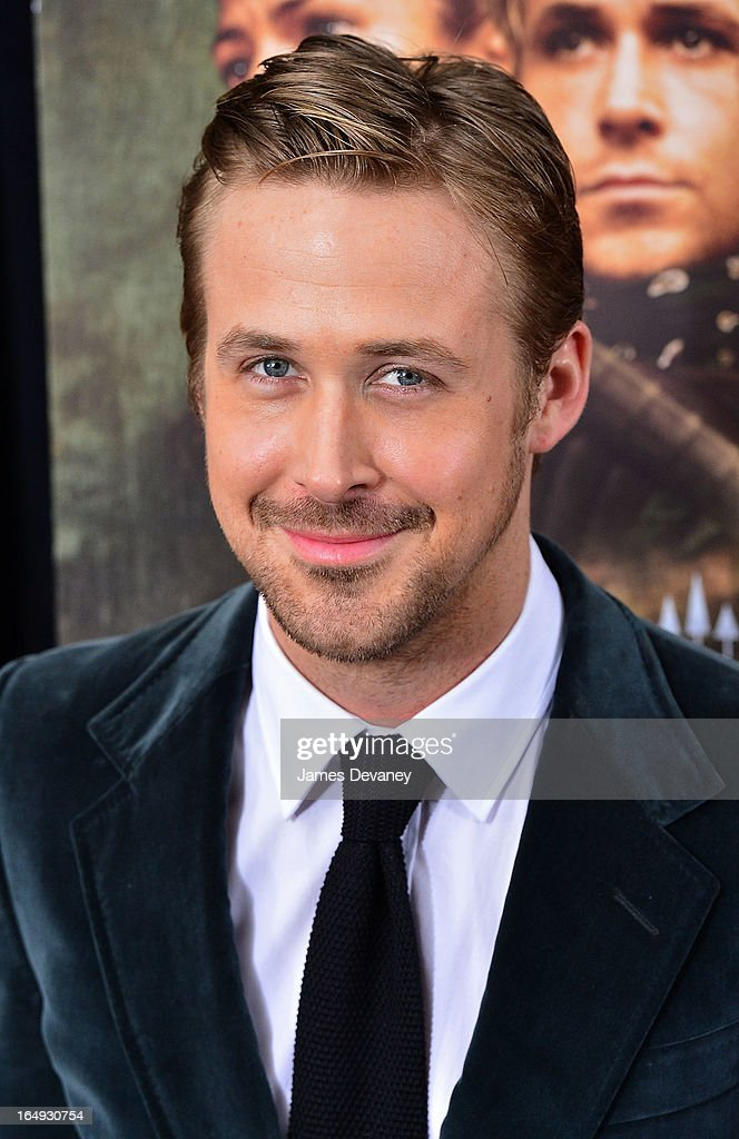 Ryan Gosling attends 'The Place Beyond The Pines' New York Premiere at Landmark Sunshine Cinema on March 28, 2013 in New York City.