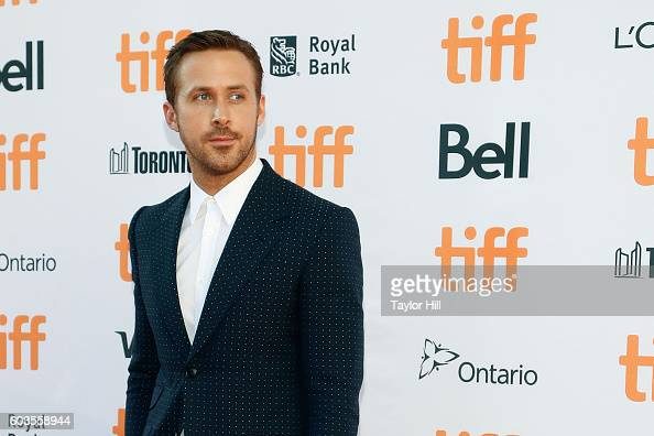 Ryan Gosling attends the premiere of 'La La Land' during the 2016 Toronto International Film Festival at Princes of Wales Theatre on September 12...