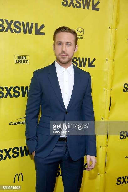 Ryan Gosling attends the world premeire of Terrence Malick's new film Song to Song at the Paramount Theater during the South By Southwest Film...