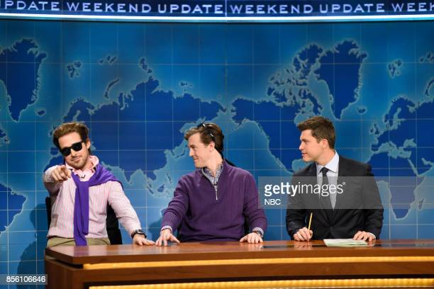 LIVE 'Ryan Gosling' Episode 1726 Pictured Ryan Gosling as Guy Who Just Joined Soho House Alex Moffat as A Guy Who Just Bought a Boat Colin Jost...