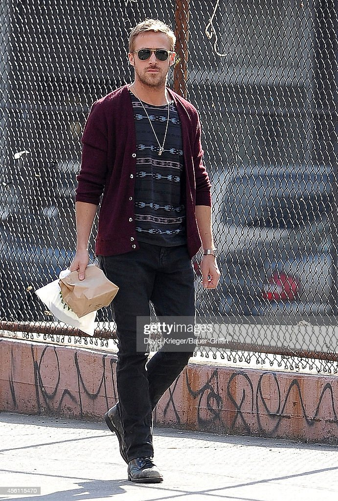 Ryan Gosling is seen on April 10 2012 in New York City