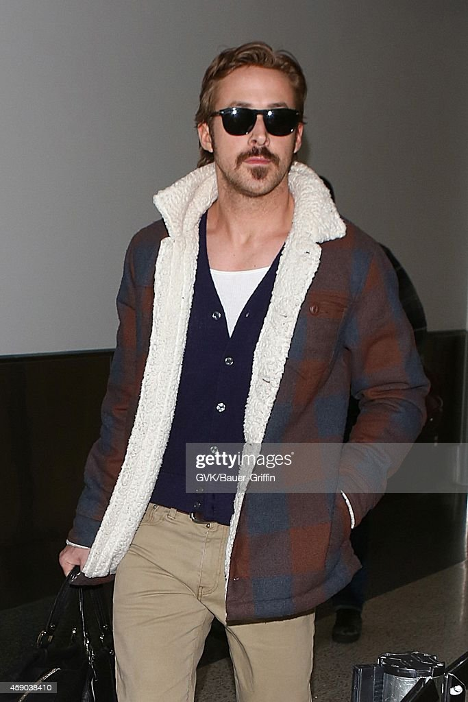 Ryan Gosling seen at LAX on November 15 2014 in Los Angeles California
