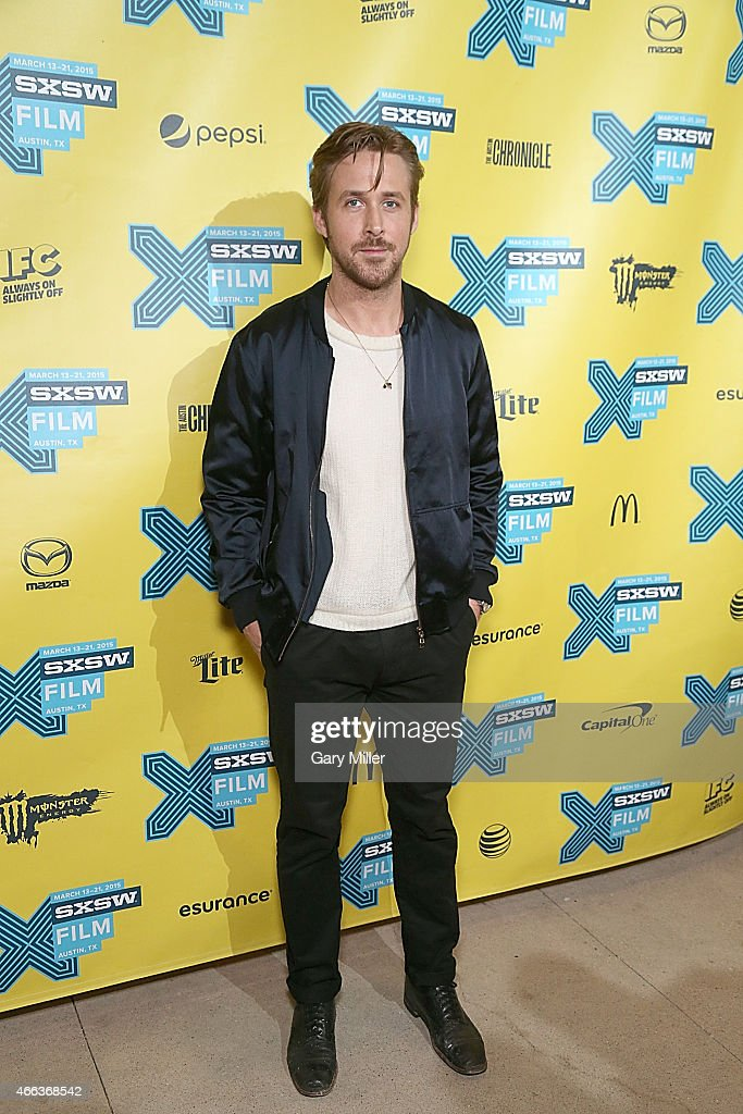 <a gi-track='captionPersonalityLinkClicked' href=/galleries/search?phrase=Ryan+Gosling&family=editorial&specificpeople=214557 ng-click='$event.stopPropagation()'>Ryan Gosling</a> walks the red carpet at the premiere of his new film 'Lost River' at the Topfer Theater during the South by Southwest Film Festival on March 14, 2015 in Austin, Texas.