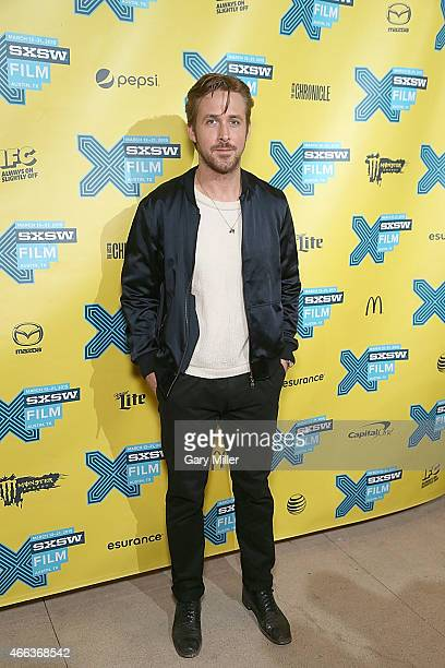 Ryan Gosling walks the red carpet at the premiere of his new film 'Lost River' at the Topfer Theater during the South by Southwest Film Festival on...