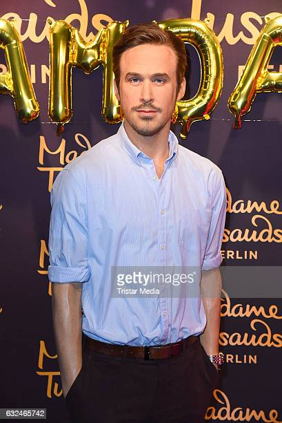 Ryan Gosling wax figure during the Ryan Gosling Wax Figure Unveiling At Madame Tussauds on January 23 2017 in Berlin Germany
