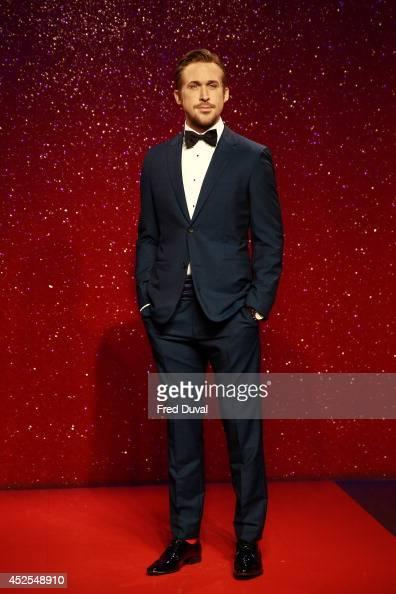 Ryan Gosling wax likeness Madame Tussauds unveil their new Ryan Gosling wax figure at Madame Tussauds on July 23 2014 in London England