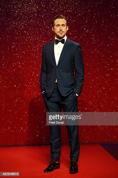 Ryan Gosling wax likeness Madame Tussauds unveil their new Ryan Gosling wax figure at Madame Tussauds on July 23 2014 in London England