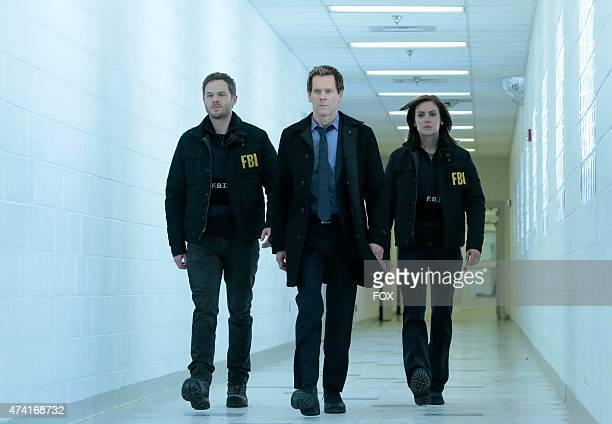 Ryan Hardy Mike and Max are on edge with Joe Carroll's execution in the 'Evermore' episode of THE FOLLOWING airing Monday April 27 2015 on FOX