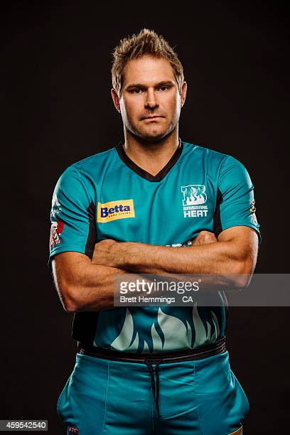 Ryan Harris of the Brisbane Heat poses during the 2014/15 Big Bash League portrait session on August 11 2014 in Sydney Australia