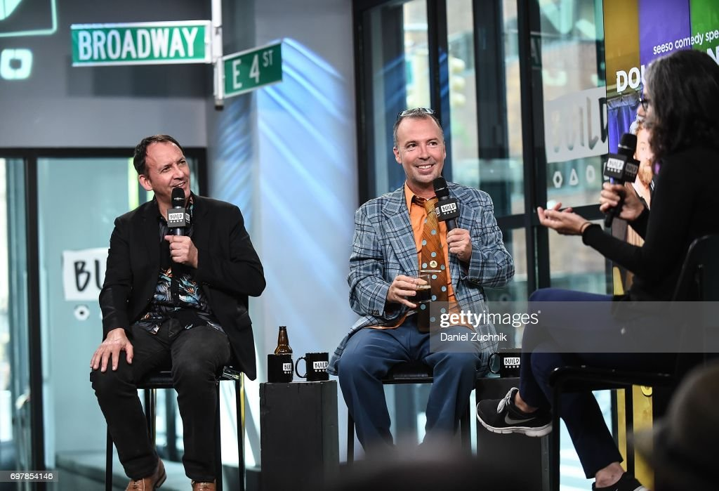 Ryan Henning and Doug Stanhope attend the Build Series to discuss the new comedy special 'The Comedians' Comedian's Comedians' at Build Studio on June 19, 2017 in New York City.