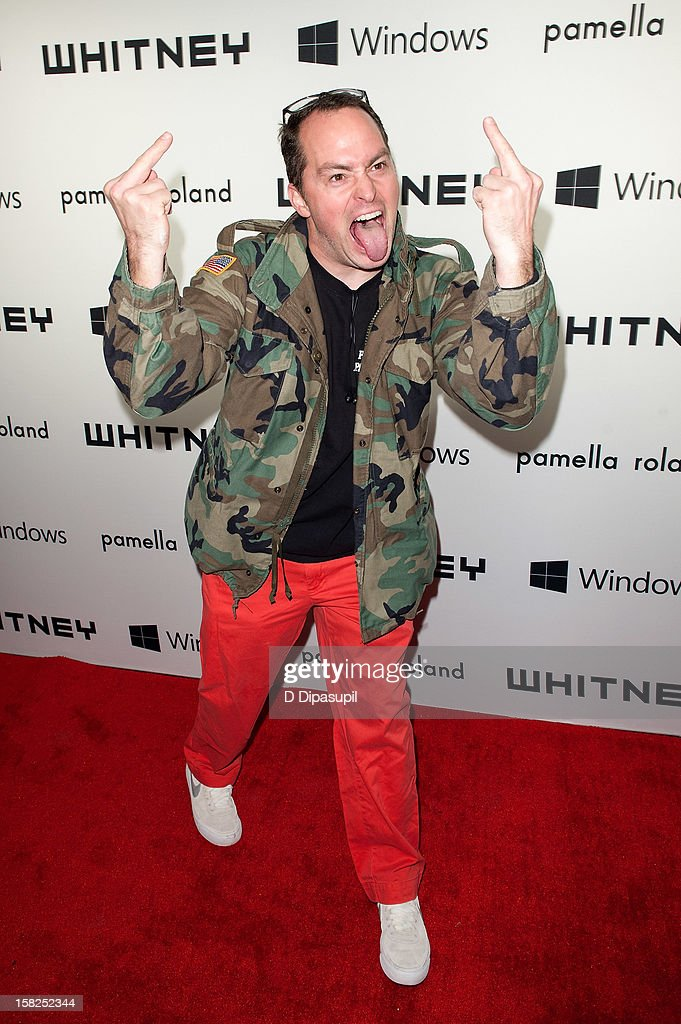 Ryan Humphrey attends the Whitney Museum of American Art's 2012 Studio Party at The Whitney Museum of American Art on December 11, 2012 in New York City.