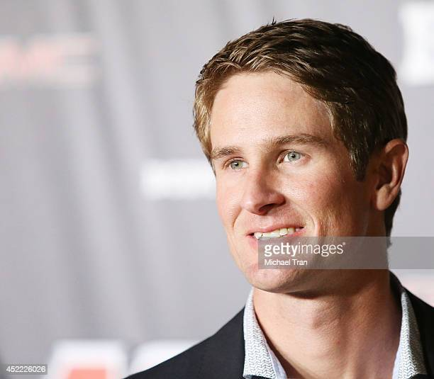 Ryan HunterReay arrives at the BODY at ESPYS PreParty held at Lure on July 15 2014 in Hollywood California