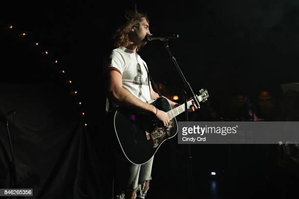 Ryan Hurd opens for Maren Morris at a private concert for SiriusXM at The McKittrick Hotel on September 12 2017 in New York City