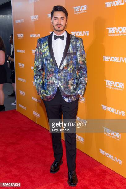 Ryan Jordan Santana attends TrevorLIVE New York 2017 at Marriott Marquis Times Square on June 19 2017 in New York City