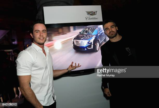 Ryan Kelley and Guest attend the VMA after party hosted by Republic Records and Cadillac at TAO restaurant at the Dream Hotel on August 27 2017 in...