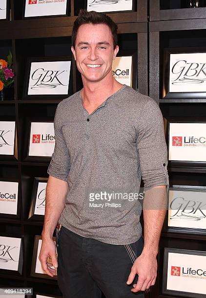 Ryan Kelley attends day 2 of GBK Gift Lounge during MTV Movie Awards weekend at Hollywood Roosevelt Hotel on April 11 2015 in Hollywood California