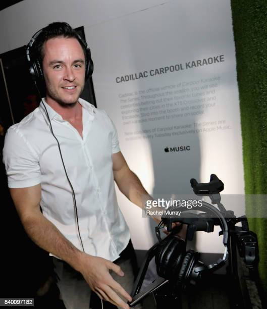 Ryan Kelley attends the VMA after party hosted by Republic Records and Cadillac at TAO restaurant at the Dream Hotel on August 27 2017 in Los Angeles...