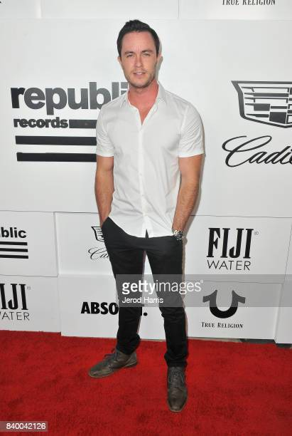 Ryan Kelly attends the VMA after party hosted by Republic Records and Cadillac at TAO restaurant at the Dream Hotel on August 27 2017 in Los Angeles...
