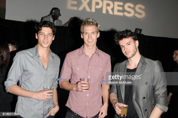 Ryan Kennedy Josh Gray and Giannis Afouras attend EXPRESS Celebrates 30 Years of Fashion at Eyebeam Studios on May 20 2010 in Brooklyn New York