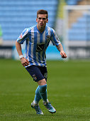 Ryan Kent of Coventry City during the Sky Bet League One match between Coventry City and Shrewsbury Town at Ricoh Arena on October 3 2015 in Coventry...