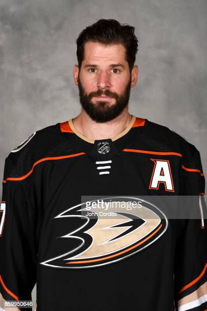 Ryan Kesler of the Anaheim Ducks poses for his official headshot for the 20172018 season on September 13 2017 at Honda Center in Anaheim California
