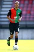 Ryan Koolwijk during the team presentation of NEC on July 7 2013 at the Goffert stadium in Nijmegen The Netherlands