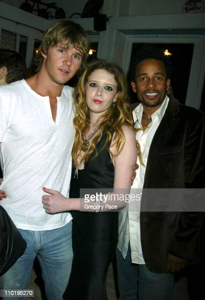 Ryan Kwanten Natasha Lyonne and Hill Harper during 3rd Annual Tribeca Film Festival 'America Brown' World Premiere After Party at Bubby's Restaurant...