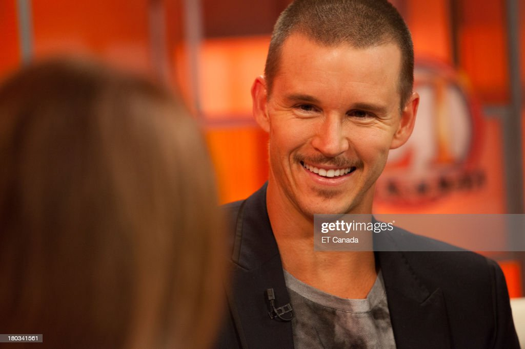 Ryan Kwanten visits the ET Canada Festival Central Lounge at the 2013 Toronto International Film Festival on September 11 2013 in Toronto Canada