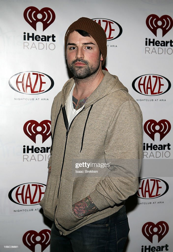 Ryan Labbe arrives at the iHeartRadio CES exclusive party featuring a live performance by Ke$ha at Haze Nightclub at the Aria Resort & Casino at CityCenter on January 9, 2013 in Las Vegas, Nevada.