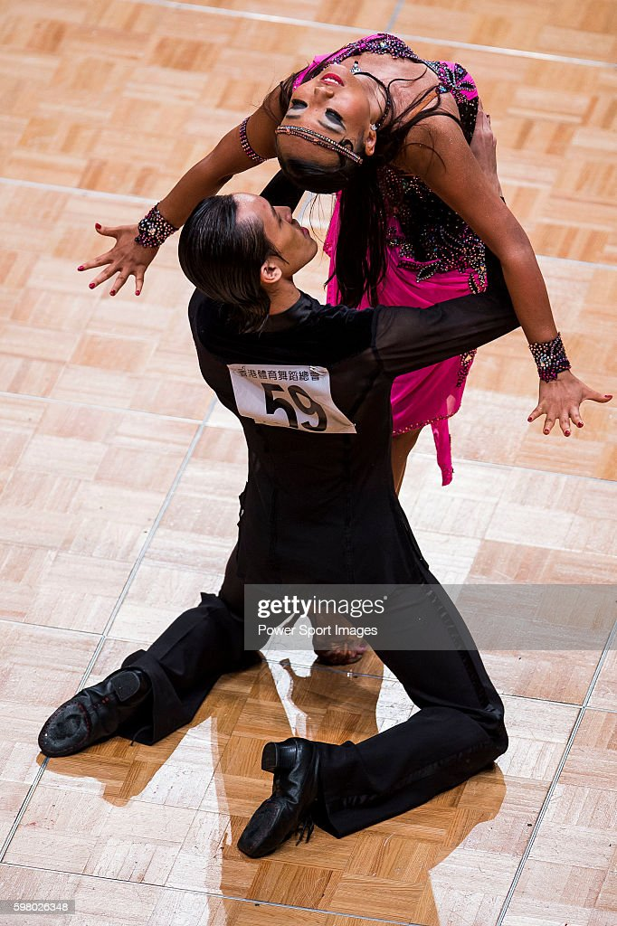 Ryan Lee and Chiew Hui Chloe Ng of Singapore during the WDSF GrandSlam Latin on the Day 1 of the WDSF GrandSlam Hong Kong 2014 on May 31 2014 at the...