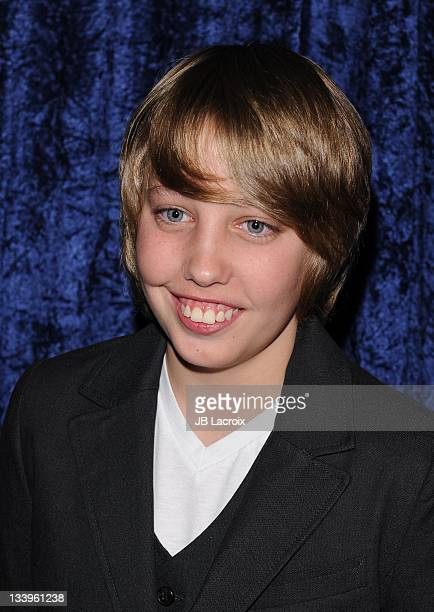 Ryan Lee arrives to Paramount Pictures' 'Super 8' Bluray and DVD release party at AMPAS Samuel Goldwyn Theater on November 22 2011 in Beverly Hills...