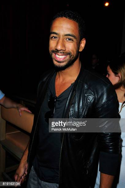 Ryan Leslie attends Vapiano hosts the New York Premiere of THE EXTRA MAN red carpet arrivals and afterparty at Village East Cinema and Vapiano NYC on...