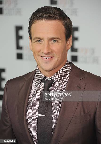 Ryan Lochte attends the 2013 E Upfront at The Grand Ballroom at Manhattan Center on April 22 2013 in New York City