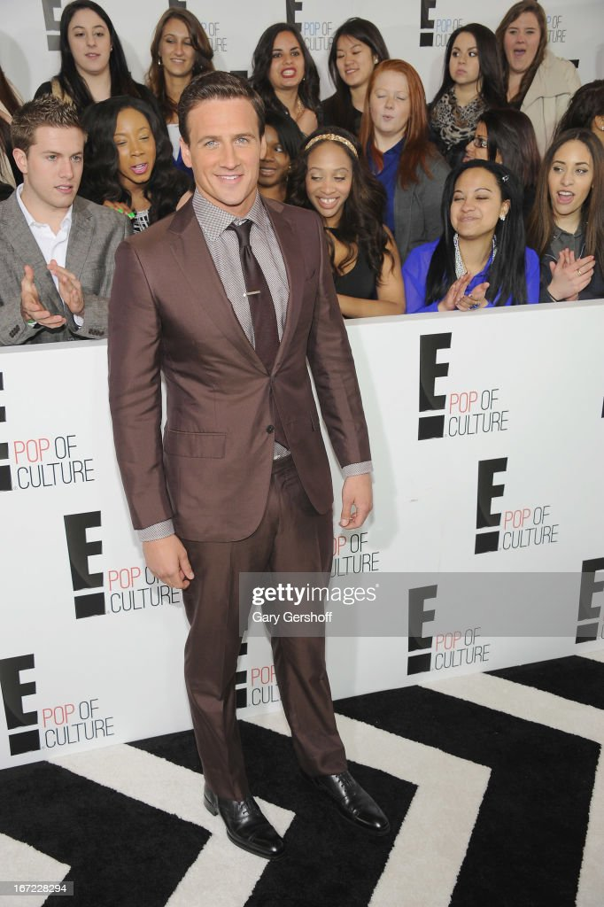 Ryan Lochte attends the 2013 E! Upfront at The Grand Ballroom at Manhattan Center on April 22, 2013 in New York City.