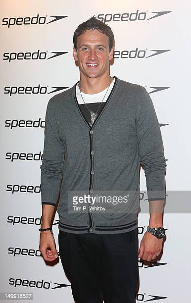 Ryan Lochte attends the Speedo Athlete Celebration at Kensington Roof Gardens on August 6 2012 in London England