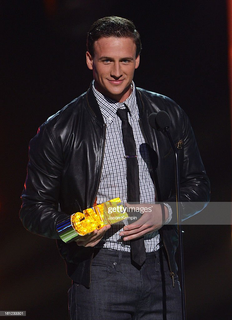 Ryan Lochte attends the Third Annual Hall of Game Awards hosted by Cartoon Network at Barker Hangar on February 9, 2013 in Santa Monica, California. 23270_003_JK_0201.JPG