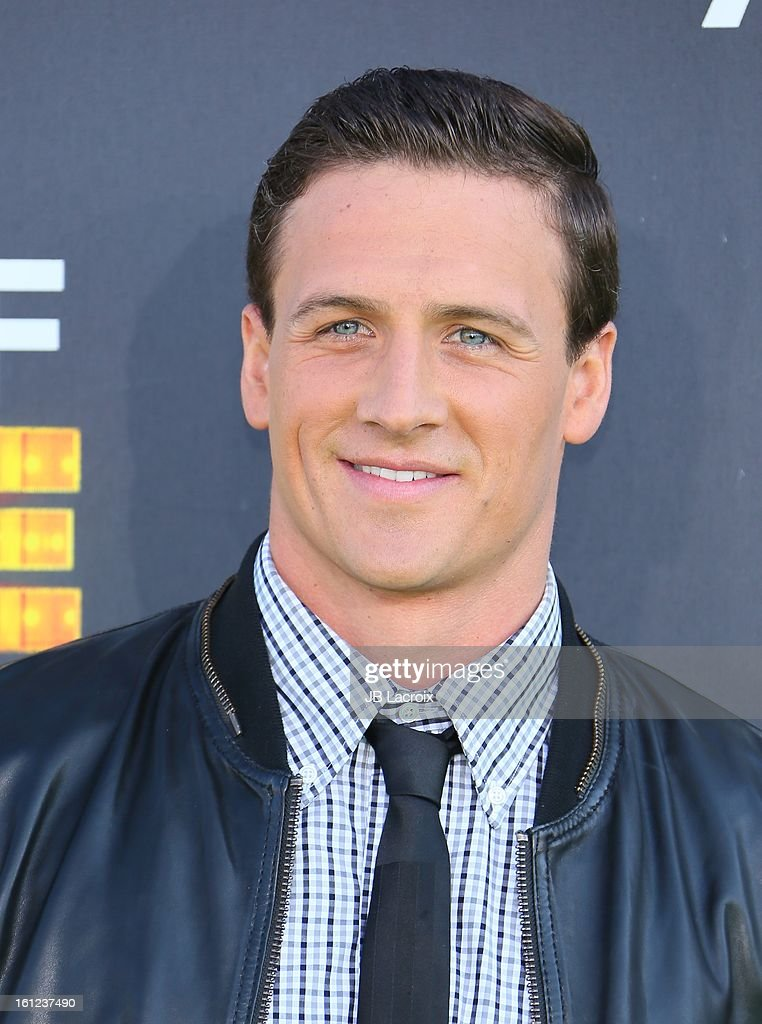 <a gi-track='captionPersonalityLinkClicked' href=/galleries/search?phrase=Ryan+Lochte&family=editorial&specificpeople=182557 ng-click='$event.stopPropagation()'>Ryan Lochte</a> attends the Third Annual Hall of Game Awards hosted by Cartoon Network at Barker Hangar on February 9, 2013 in Santa Monica, California.