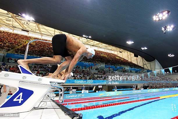 olympics day 1 swimming