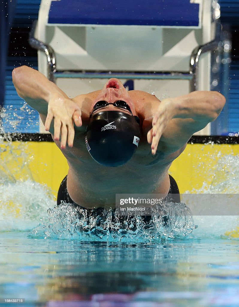 Ryan Lochte of USA competes in the Men's 100m IM final during day five of the 11th FINA Short Course World Championships at the Sinan Erdem Dome on December 16, 2012 in Istanbul, Turkey.